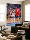 Miami Heat v Dallas Mavericks - Game Four, Dallas, TX -June 7: Jose Barea and Mike Bibby Art by Andrew Bernstein