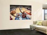 Portland Trail Blazers v Dallas Mavericks - Game OneDallas, TX - APRIL 16: Jason Terry, Gerald Wall Art by Glenn James
