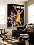 Dallas Mavericks v Los Angeles Lakers - Game One, Los Angeles, CA - MAY 2: Jason Kidd and Derek Fis Art by Noah Graham