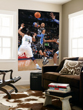 Orlando Magic v Denver Nuggets: Vince Carter and Shelden Williams Posters by Garrett Ellwood