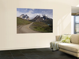 Park Road Past Lago Nordenskjold and Cuernos Massif Prints by John Elk III