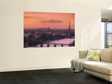 Eiffel Tower and River Seine, Paris, France Poster by Walter Bibikow