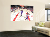 Sacramento Kings v Houston Rockets: Chase Budinger and Carl Landry Posters by Bill Baptist