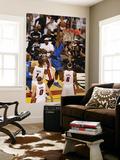 Dallas Mavericks v Miami Heat - Game One, Miami, FL - MAY 31: Brendan Haywood and Joel Anthony Posters by Issac Baldizon