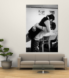 Oberlin College Students Kissing in a Co-Ed Dorm Posters by Bill Ray