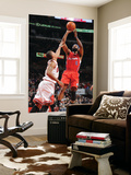 Los Angeles Clippers v Chicago Bulls: Baron Davis and Derrick Rose Prints by Randy Belice