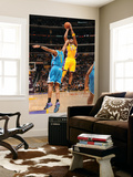 New Orleans Hornets v Los Angeles Lakers - Game Five, Los Angeles, CA - April 26: Kobe Bryant Art