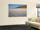 Polygonal Salt Formations at Badwater Basin, on Floor of Death Valley Print by Feargus Cooney