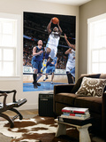 Minnesota Timberwolves v Denver Nuggets: Ty Lawson and Kevin Love Print by Garrett Ellwood