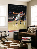 Atlanta Hawks v Detroit Pistons: Charlie Villanueva and Zaza Pachulia Prints by Allen Einstein