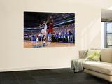 Miami Heat v Dallas Mavericks - Game Four, Dallas, TX -June 7: LeBron James and DeShawn Stevenson Prints by Andrew Bernstein