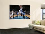 Oklahoma City Thunder v Dallas Mavericks - Game TwoDallas, TX - MAY 19: Dirk Nowitzki, Serge Ibaka  Prints by Glenn James