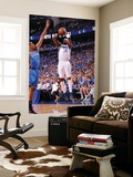 Oklahoma City Thunder v Dallas Mavericks - Game One, Dallas, TX - MAY 17: Jason Terry and Thabo Sef Art by Andrew Bernstein