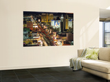 The Strip, Las Vegas, Nevada, USA Print by Walter Bibikow