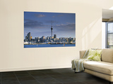 Skyline of Auckland, North Island, New Zealand Prints by Doug Pearson