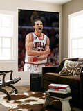 Miami Heat v Chicago Bulls - Game One, Chicago, IL - MAY 15: Joakim Noah Affiches par Gregory Shamus