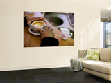 Morning Cappucino Poster by Brian Cruickshank