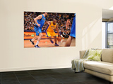 Dallas Mavericks v Los Angeles Lakers - Game Two, Los Angeles, CA - MAY 4: Ron Artest and Peja Stoj Art by Andrew Bernstein
