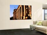 Victorian State Parliament House Pillars Poster by Glenn Van Der Knijff
