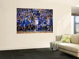Oklahoma City Thunder v Dallas Mavericks - Game Five, Dallas, TX - MAY 25: Tyson Chandler Print by Noah Graham