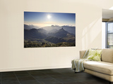 Canary Islands, Gran Canaria, Central Mountains, View of West Gran Canaria from Roque Nublo Poster by Michele Falzone