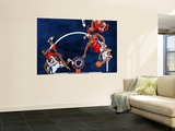Portland Trail Blazers v Memphis Grizzlies: Rudy Gay and Marcus Camby Prints by Joe Murphy