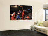 2011 NBA All Star Game, Los Angeles, CA - February 20: Kobe Bryant and Chris Bosh Prints by Noah Graham