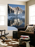 Yosemite Falls in Winter Reflected in the Merced Rive Prints by Douglas Steakley
