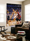 Miami Heat v Dallas Mavericks - Game Three, Dallas, TX -June 5: Dirk Nowitzki and Dwyane Wade Art by Garrett Ellwood