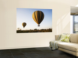Hot Air Balloons at Dawn Print by Tony Wheeler