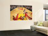 Chicago Bulls v Miami Heat - Game FourMiami, FL - MAY 24: Joel Anthony, Joakim Noah Print by Victor Baldizon