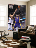 Los Angeles Lakers v Dallas Mavericks - Game Four, Dallas, TX - MAY 8: Lamar Odom and Dirk Nowitzki Posters by Noah Graham