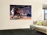 Miami Heat v Dallas Mavericks - Game Five, Dallas, TX -June 9: Jose Barea, Chris Bosh and Dirk Nowi Posters by Andrew Bernstein