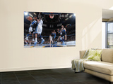 Orlando Magic v Denver Nuggets: Jameer Nelson and Al Harrington Print by Garrett Ellwood