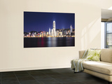 Hong Kong Skyline from Kowloon, China Prints by James Montgomery Flagg