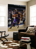 Los Angeles Lakers v Dallas Mavericks - Game Four, Dallas, TX - MAY 8: Kobe Bryant and Jason Kidd Poster by Danny Bollinger
