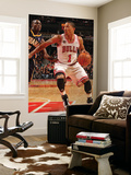 Indiana Pacers v Chicago Bulls: Derrick Rose and Darren Collison Prints by Ray Amati