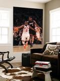 Miami Heat v New York Knicks: Raymond Felton and LeBron James Prints by Al Bello