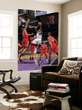 Houston Rockets v Sacramento Kings: Tyreke Evans and Shane Battier Posters by Rocky Widner