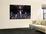 Oklahoma City Thunder v Dallas Mavericks - Game Five, Dallas, TX - MAY 25: Jose Juan Barea and Kevi Print by Danny Bollinger