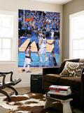 Oklahoma City Thunder v Dallas Mavericks - Game One, Dallas, TX - MAY 17: Kendrick Perkins and Tyso Poster af Andrew Bernstein
