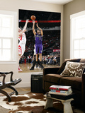 Sacramento Kings v Houston Rockets: Omri Casspi and Chase Budinger Prints by Bill Baptist