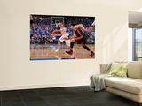 Miami Heat v Dallas Mavericks - Game Five, Dallas, TX -June 9: Jose Barea and Mike Bibby Prints by Andrew Bernstein
