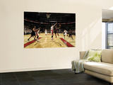 Chicago Bulls v Toronto Raptors: Linas Kleiza and C.J. Watson Prints by Ron Turenne