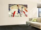 Sacramento Kings v Houston Rockets: Omri Casspi and Chase Budinger Prints by Bill Baptist