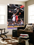 Houston Rockets v Sacramento Kings: Kyle Lowry and Carl Landry Prints by Rocky Widner