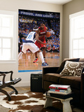 Miami Heat v Dallas Mavericks - Game Four, Dallas, TX -June 7: LeBron James and Jason Terry Prints by Andrew Bernstein