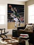 Milwaukee Bucks v Dallas Mavericks: Drew Gooden and DeShawn Stevenson Prints by Glenn James