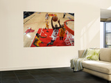 Indiana Pacers v Chicago Bulls - Game Five, Chicago, IL- April 26: Luol Deng and Danny Granger Prints
