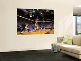 Dallas Mavericks v Miami Heat - Game One, Miami, FL - MAY 31: Jose Juan Barea and Udonis Haslem Art by Ronald Martinez